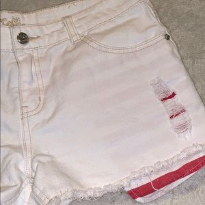 Justice Bottoms - Justice Shorts 16 1/2 with American Flag Pockets